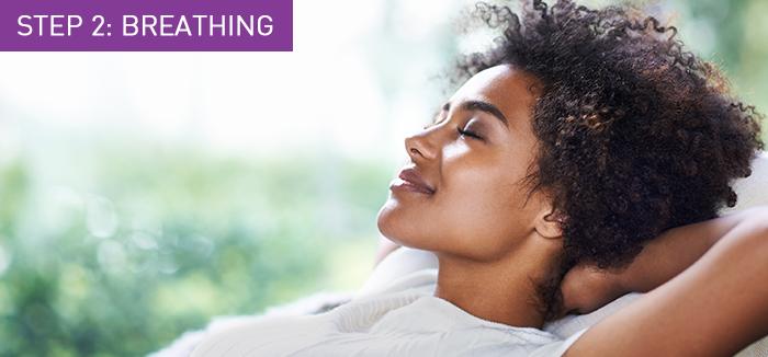Young beautiful african american woman relaxing